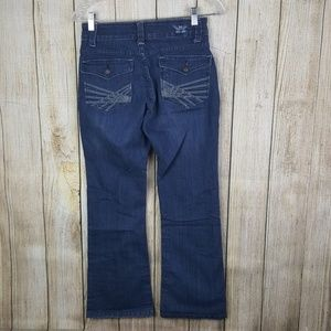 Lee Jeans Perfect Fit Womens Size 4 Petite Stretch